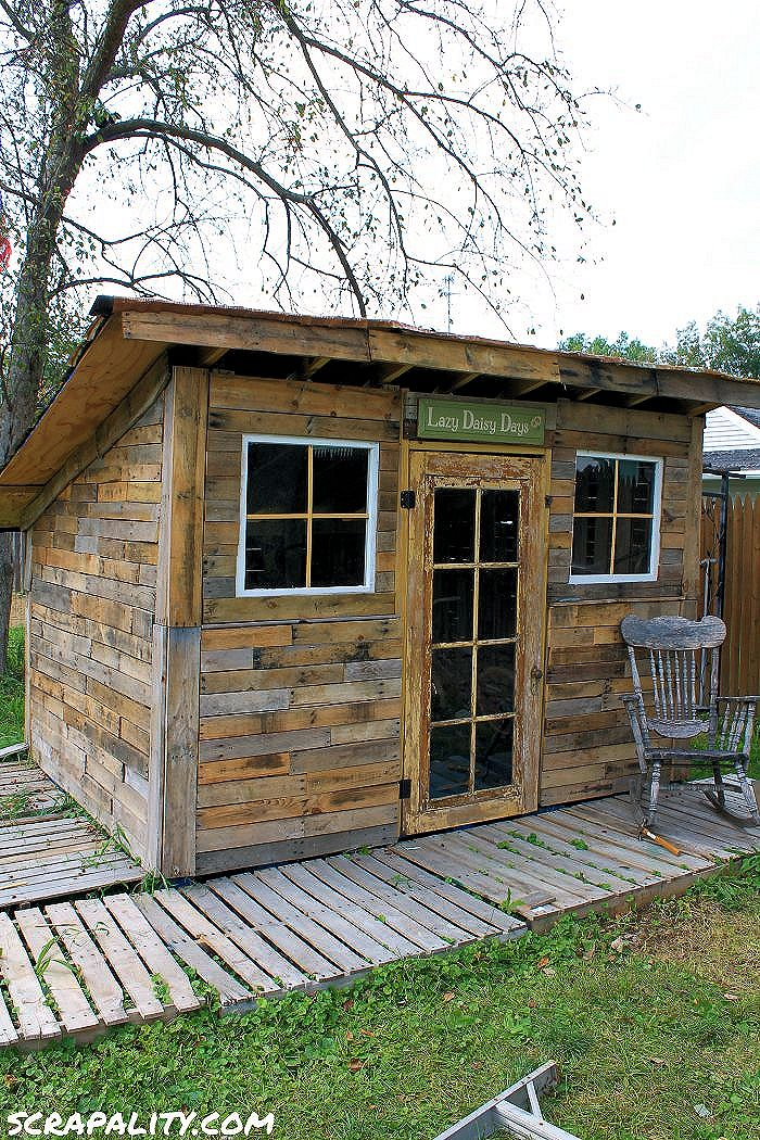 how to build a shed out of scrap wood | Woodworking DIY Projects