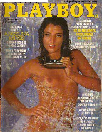Playboy 1982 Angelina Muniz
