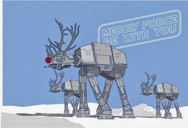 """фото Новый год в стиле """"Звёздные войны"""""""