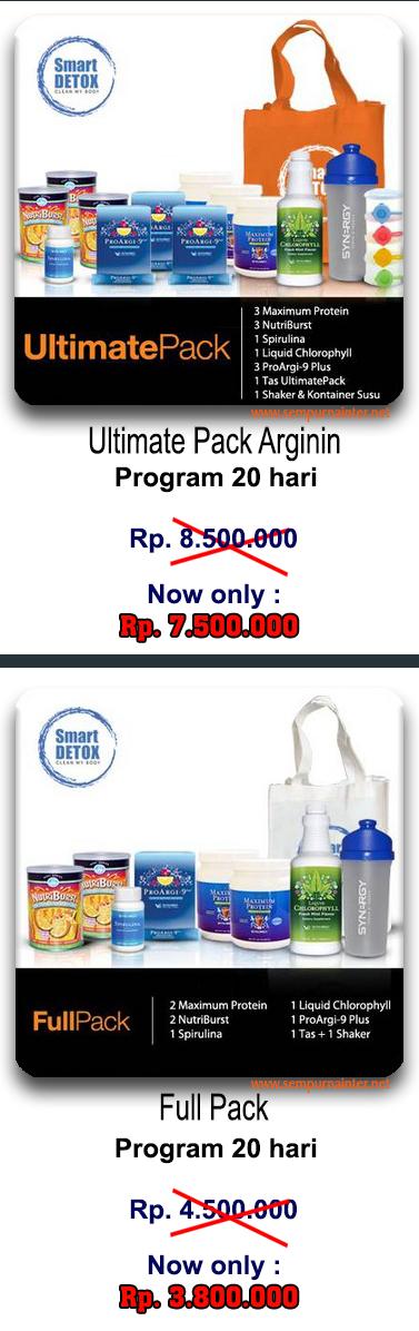 Paket Program Smart DETOX
