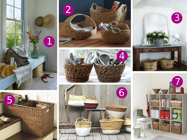 Basket Home Decor