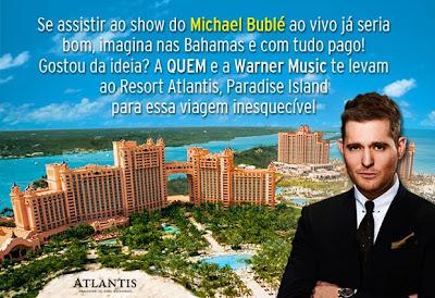 """Concurso Cultural """"Eu e meu ídolo nas Bahamas"""""""