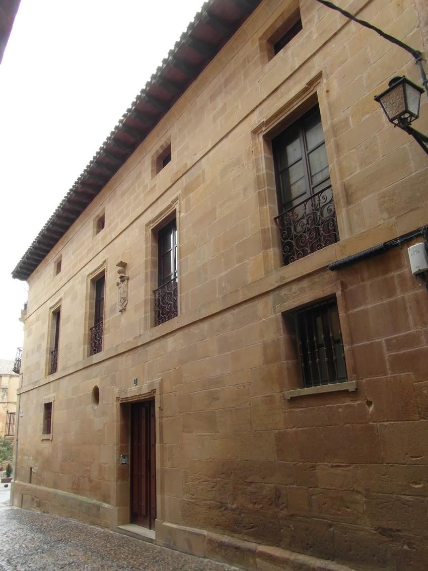 Casas solariegas en la rioja 129 briones vi calle san - Casas prefabricadas la rioja ...