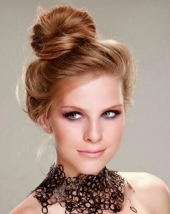 Peinados de fiesta con el pelo suelto YouTube - Como Hacerse Un Peinado De Fiesta