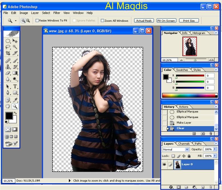 nah sekarang kita bisa membuat background warna lain dengan cara
