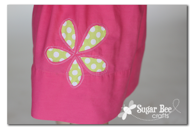 Reverse Applique Pillowcase Skirt - Sugar Bee Crafts