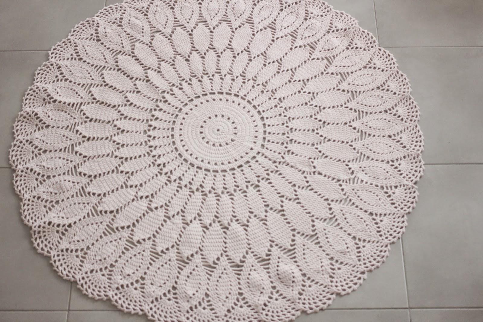 Ah ma bichette mes tapis au crochet - Modele tapis crochet gratuit ...