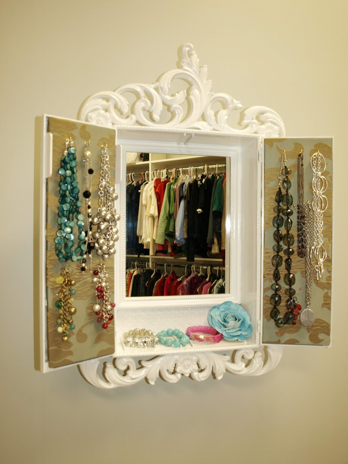Diy Jewelry Cabinet