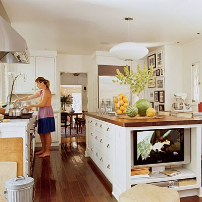 Take a look for kitchen island design and style ideas for Kitchen ideas no island
