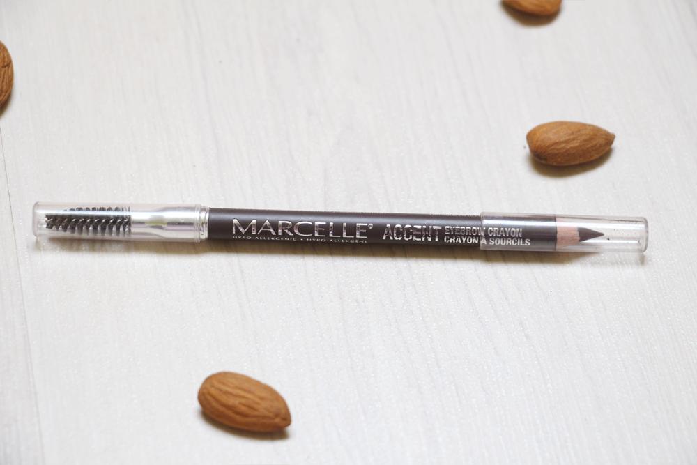 test crayon sourcils accent marcelle
