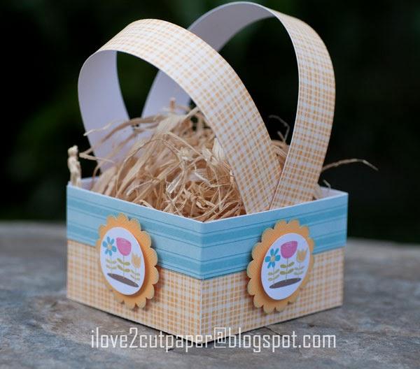 Gift Basket, spring,