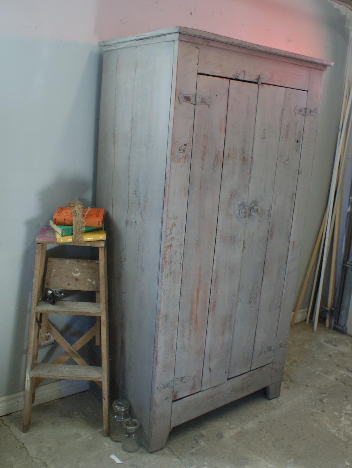 Better Than New: Many Generations Barn Board Cabinet