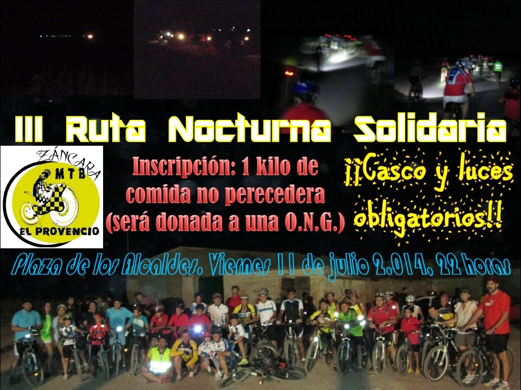 Fotos III Ruta Nocturna Solidaria