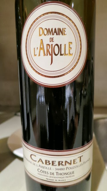 Wine Label of 2011 Domaine De L'Arjolle Cabernet