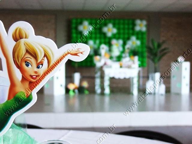decoração festa infantil tinker bell