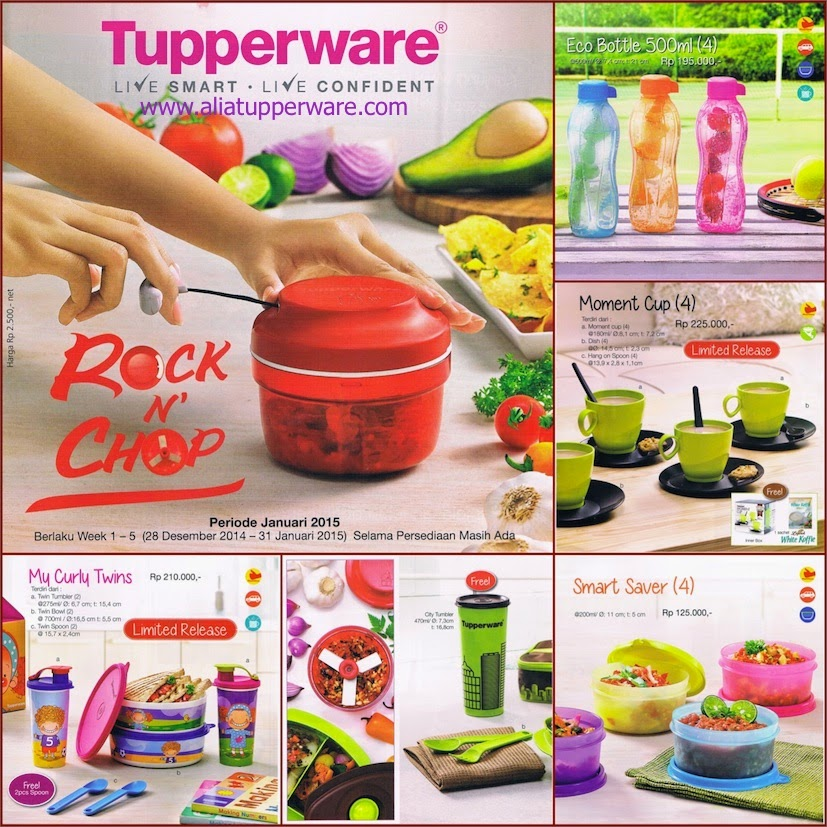 Aliatupperware Katalog Tupperware Promo Januari 2015 | New Style for ...