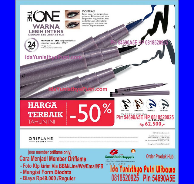 Katalog oriflame agustus 2015 indonesia Promo eye liner stylo