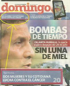 "ENTREVISTA DEL DIARIO ""LA REPUBLICA""-LIMA PERU-26.06.2011"