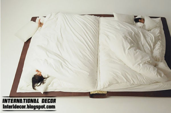 unusual bed book, creative beds for modern interior