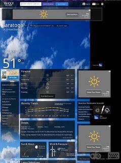 Yahoo weather Cara Mengetahui Prakiraan Cuaca Diwilayah Anda