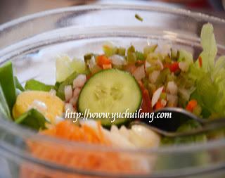 Salad Sayur-sayuran