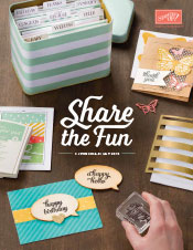 Annual Stampin Up Catalogue