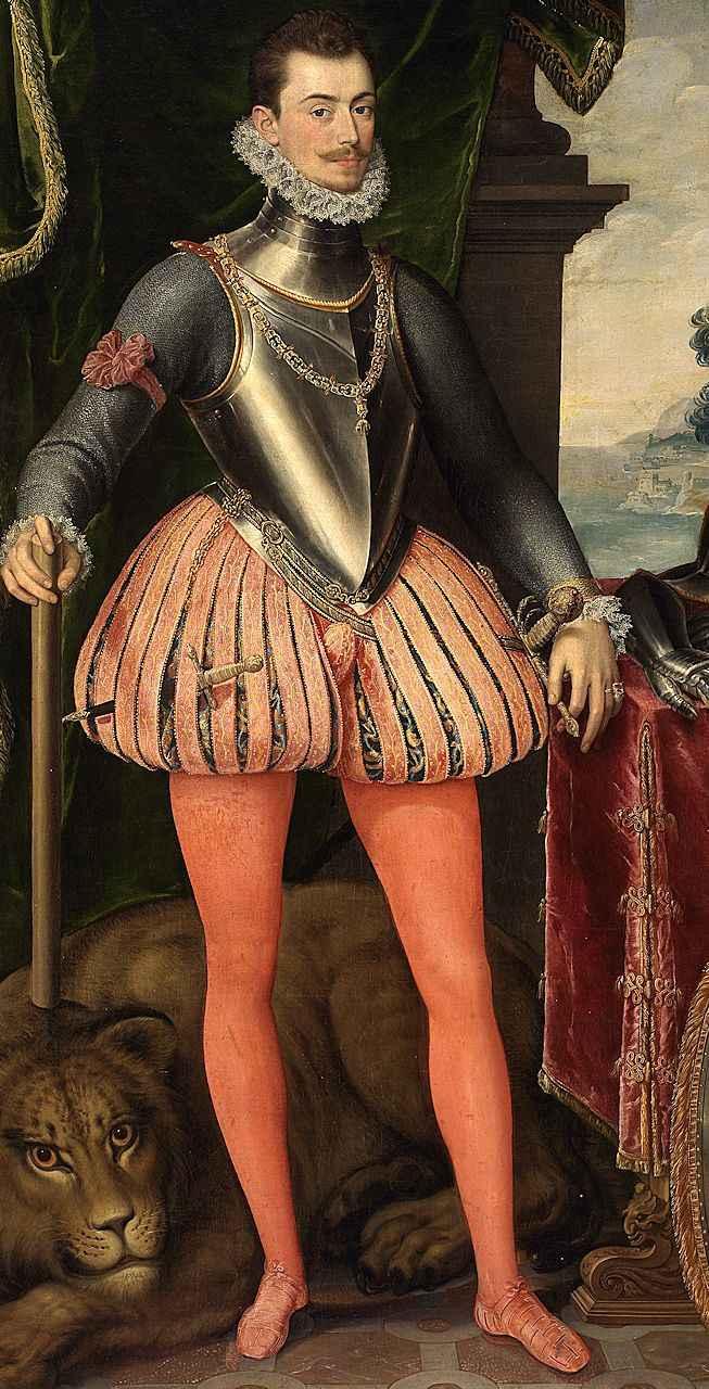 Dom João d'Áustria, Pantoja de la Cruz (1553 – 1608), Museo del Prado, Madri.
