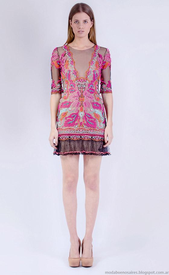Vestidos 2015 moda primavera verano 2015 Natalia Antolin.