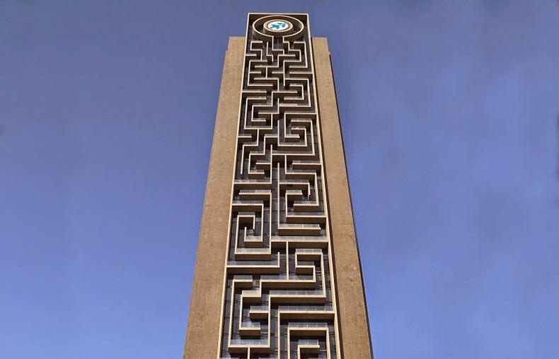 El más grande laberinto vertical del mundo en Dubai