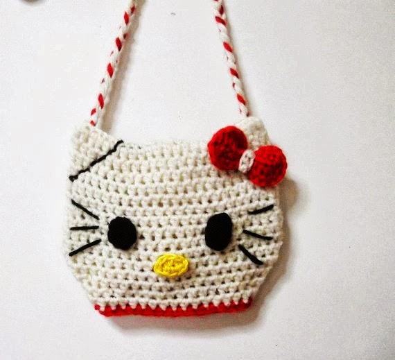 Free Crochet Pattern Hello Kitty Bag : ?? ???????? ??? ??????: ???????? Hello kitty - Hello kitty ...