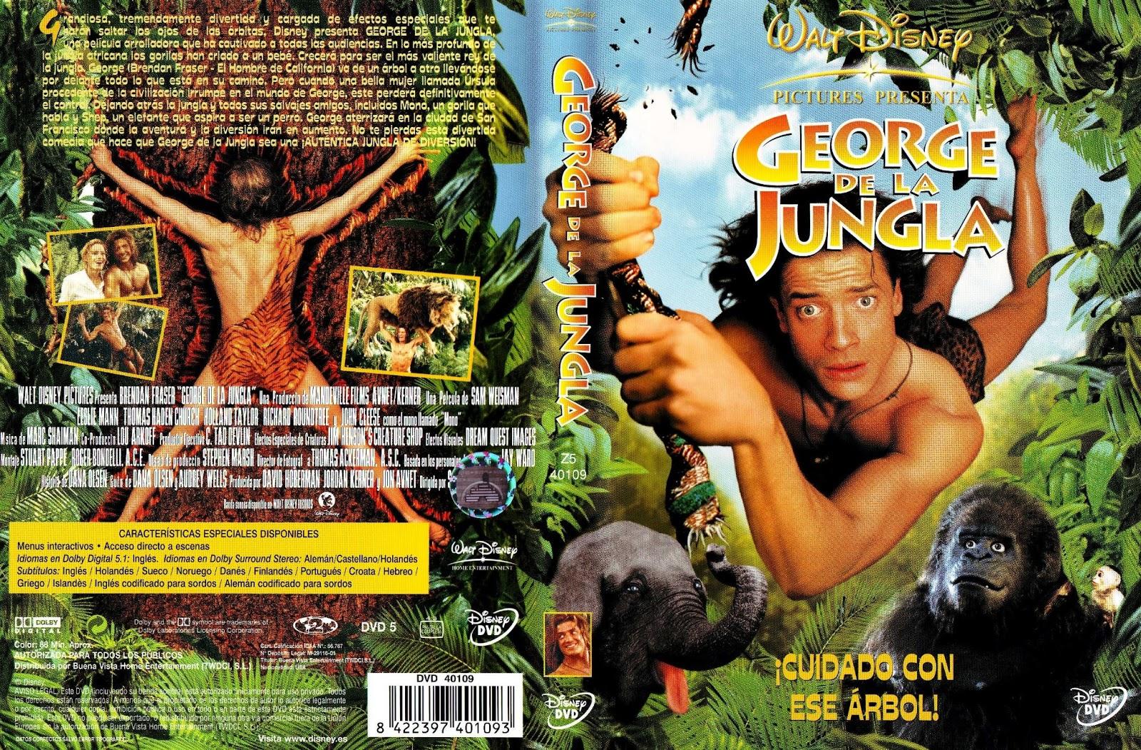 T mbola disney george de la jungla - Tarzan pelicula completa ...