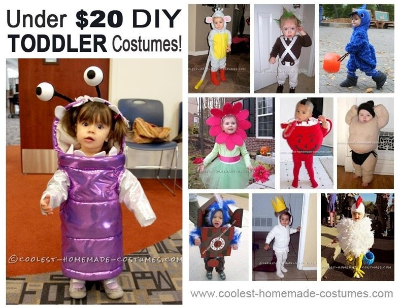 10 DIY Infant Toddler Halloween Costumes for Under $20  sc 1 st  DIY Craft Projects & 10 DIY Infant Toddler Halloween Costumes for Under $20 - DIY Craft ...