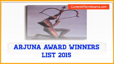 Arjuna Awards Winners 2015