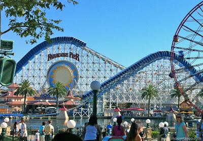 California Screamin' Disney California Adventure coaster review
