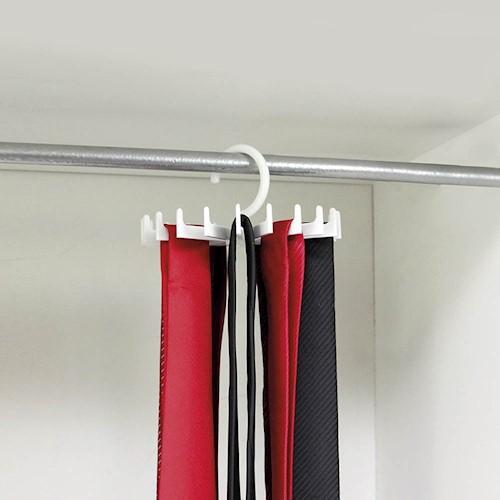 Cabide giratório para gravatas
