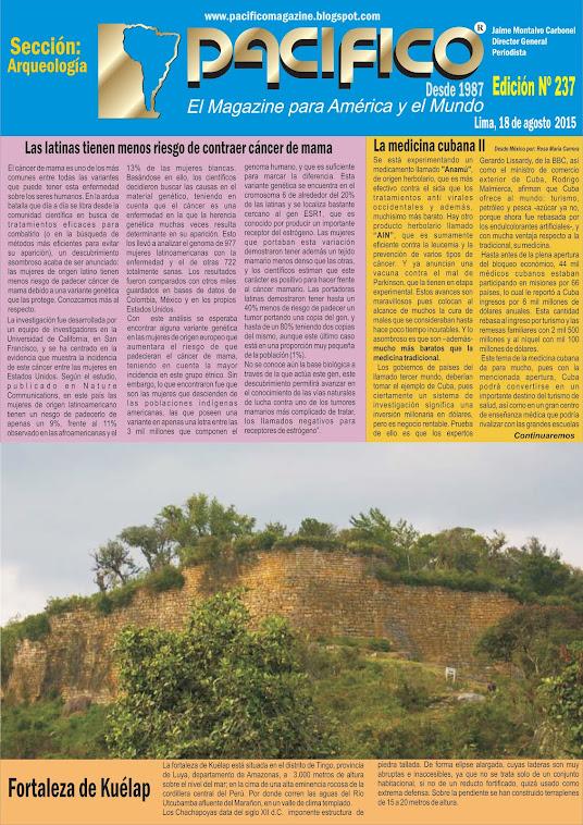 Revista Pacífico Nº 237 Arqueología
