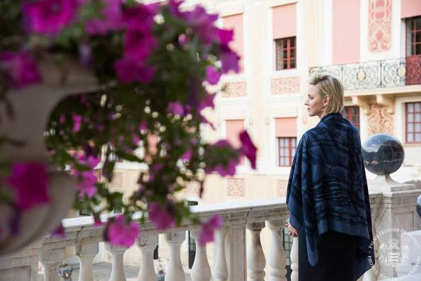 Princess Charlene Attended Corpus Christi celebrations In Monaco