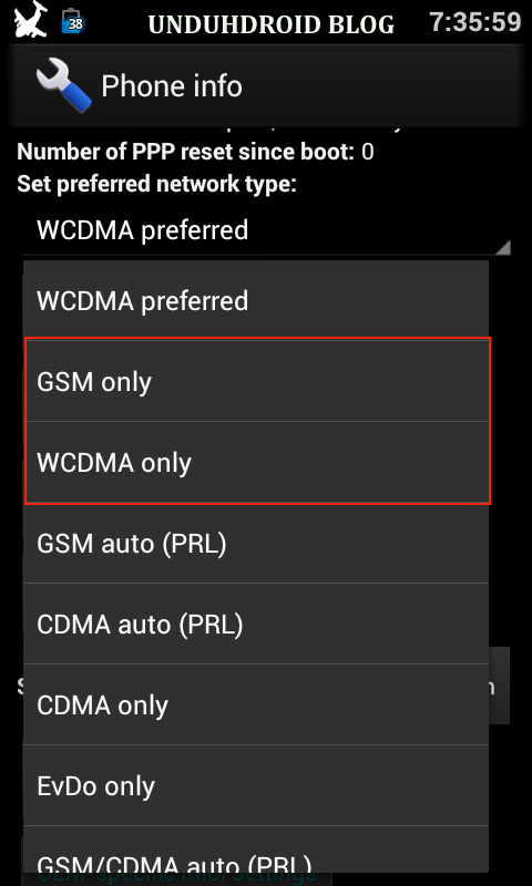Cara Merubah Sinyal EDGE Menjadi HSDPA di Android Terbaru