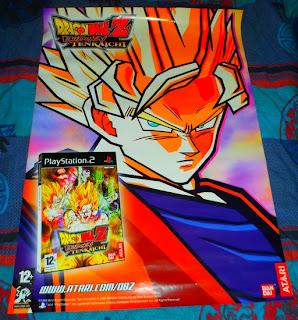 Affiche Dragon Ball Z Budokai Tenkaichi 1