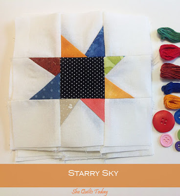 How to make a starry sky quilt