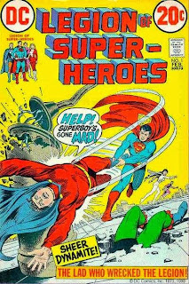 Comic Legion de Superheroes 1973