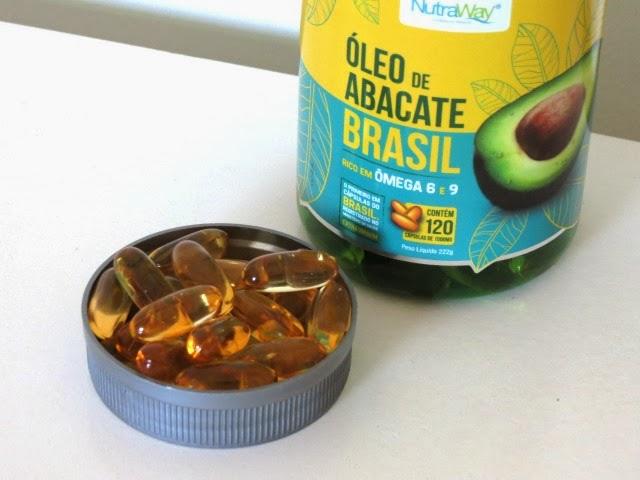 óleo de abacate Nutraway