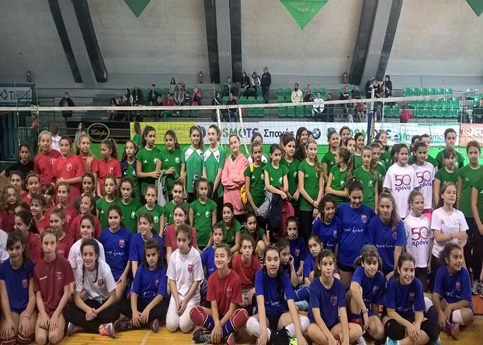 Τουρνουά Αλληλεγγύης Mini Volley 2015