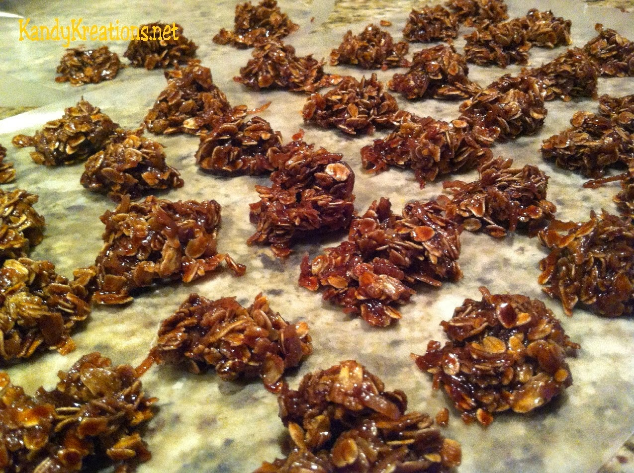 No Bake Cookies by Kandy Kreations