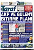 Taraf Daily headlines