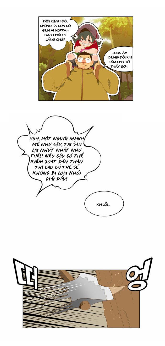 Chúa tể học đường chap 44 - Trang 9