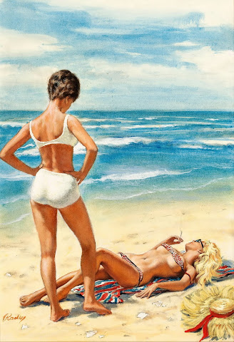Paul Rader pin up girl