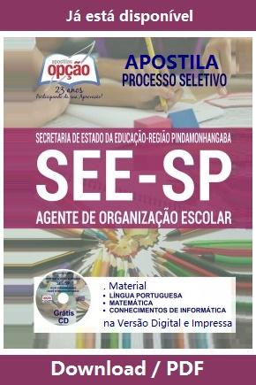Apostila SEE/SP - Diretoria de Ensino Região Pindamonhangaba