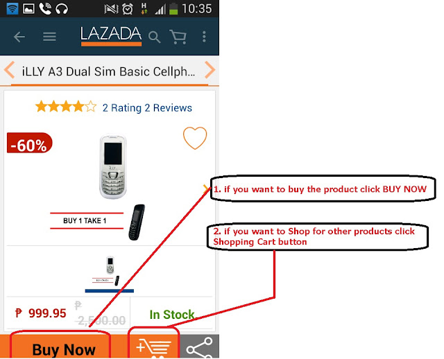 How to buy in lazada the online shopping cash on delivery the ccuart Images