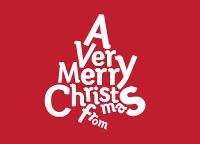 Christmas Tree Shape greeting cards